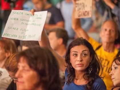 Giannini contestata alla festa del Pd a Milano