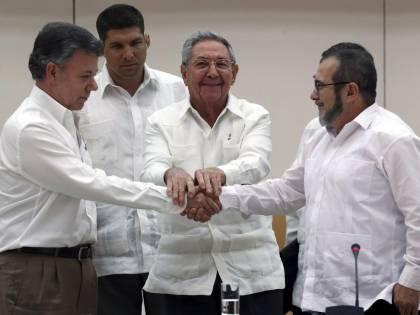 La Colombia fa pace con le Farc, accordo entro sei mesi