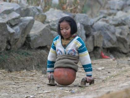 """Qian Hongyan, """"Basketball Girl"""""""