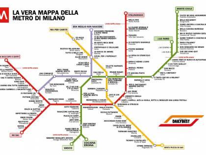 Cartina Metro Milano Pdf.La Metro Di Milano Rivista Tra Allah Akbar E Ragazzine Cattoliche Ilgiornale It