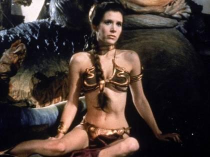 Il bikini della principessa Leila battuto all'asta per 96mila dollari