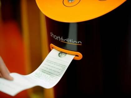 Nelle metro francesi arrivano i distributori automatici di racconti