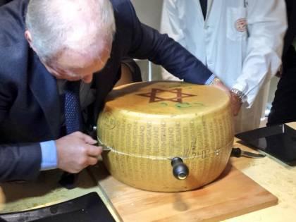 """Il Parmigiano secondo la Legge. Aperta la prima forma """"kosher"""""""