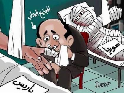 L'ironia araba sulla Francia ferita