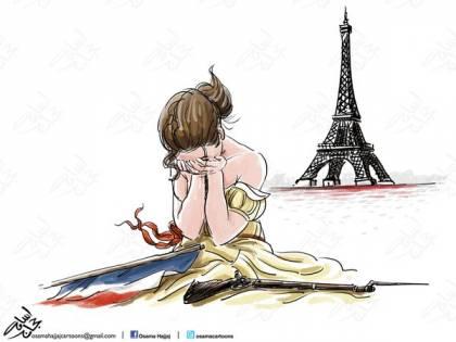 L'ironia sulla Francia ferita. La satira dei vignettisti arabi