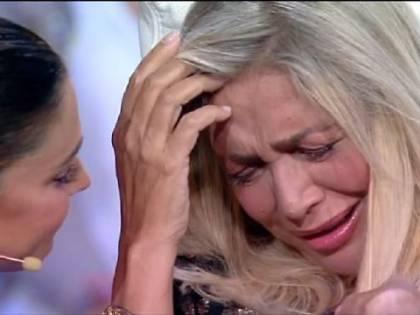 Mara Venier lacrime in diretta parlando dell'Alzheimer della madre