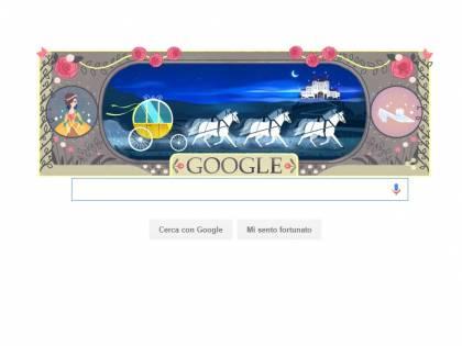 Google celebra con un doodle Charles Perrault, autore delle fiabe più famose