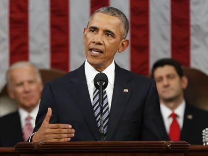 """Obama al Congresso Usa: """"L'America è forte. No all'odio contro i musulmani"""""""