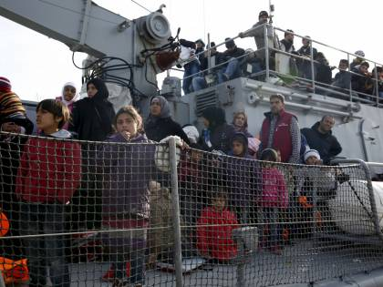 """In Italia 6mila migranti in 4 giorni"""
