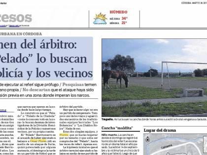 In Argentina un calciatore uccide l'arbitro per un cartellino rosso