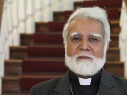 """L'arcivescovo di Karachi ospite del """"Giornale"""""""