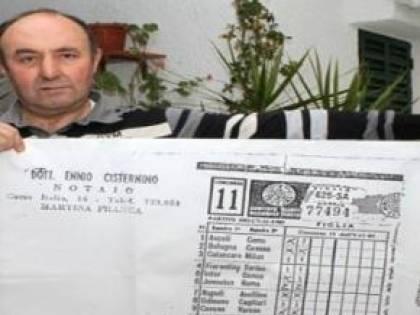 Fa tredici ma gli negano la vincita: 36 indagati dopo 35 anni