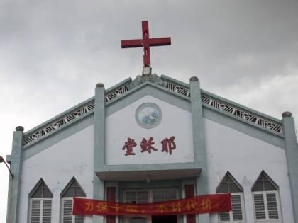 La battaglia della Cina contro le croci cristiane
