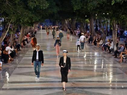 La sfilata di Chanel a Cuba