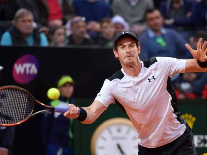 Tennis, Andy Murray batte Novak Djokovic e vince gli Internazionali Bnl