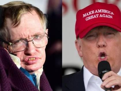 """Il fisico Hawking su Trump: """"Il suo successo è inspiegabile"""""""