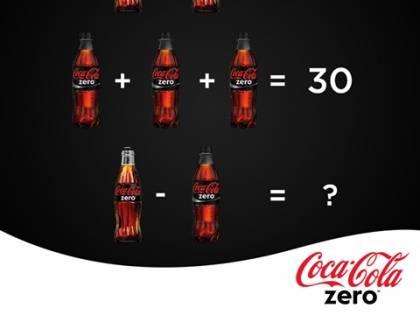 Anche Coca-Cola propone un rompicapo matematico