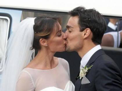 Flavia Pennetta e Fabio Fognini sposi nella cattedrale di Ostuni