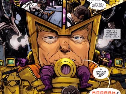 Donald Trump diventa un cattivo dei fumetti Marvel