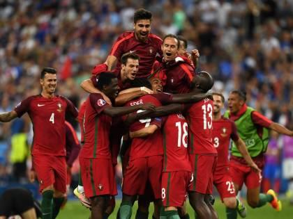 Portogallo sul tetto d'Europa: Eder manda ko la Francia