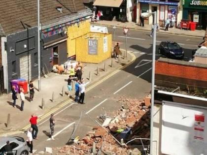 Esplosione a Glasgow in un ristorante