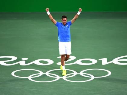 Rio 2016, tennis: Del Potro vuole entrare nella storia