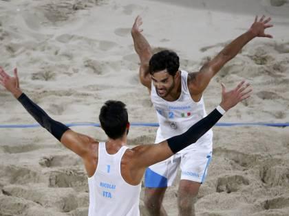 Rio 2016, beach volley: Lupo e Nicolai vogliono far sognare l'Italia