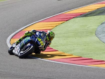 MotoGp, ad Aragon vince Marquez: 2° Lorenzo, 3° Valentino Rossi