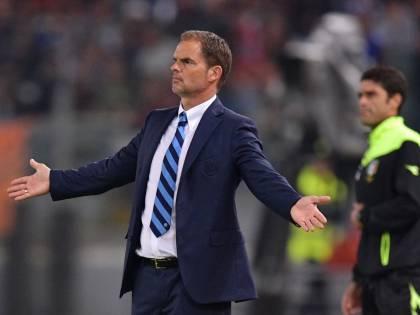 """De Boer, stoccata all'Inter: """"Non c'è nessuno che comanda"""""""