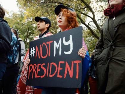 Protestano contro Trump ma non sono andati a votare