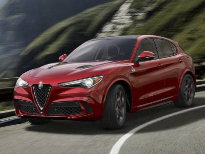 Stelvio, il primo suv dell'Alfa Romeo