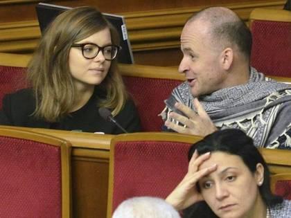 Online le foto osé del viceministro degli Interni ucraino