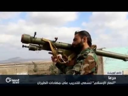 Siria, missili antiaerei consegnati ai ribelli