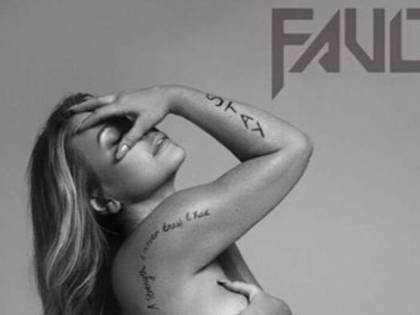 Anastacia nuda sulla copertina di Fault