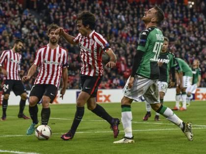 Il Sassuolo dice addio all'Europa League: l'Athletic Bilbao si impone 3-2