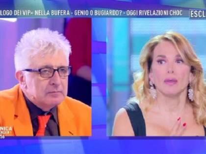 Domenica Live, sfiorata la rissa tra il farmacista Lemme e l'attrice Rinaldi