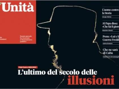 Dopo il titolo dell'Unità sulla morte di Castro, le scuse di Staino