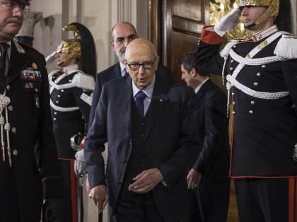 "Napolitano allontana le urne: ""Nei Paesi civili si vota a scadenza naturale"""