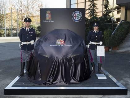 Polizia, le nuove vetture Jeep e Alfa Romeo