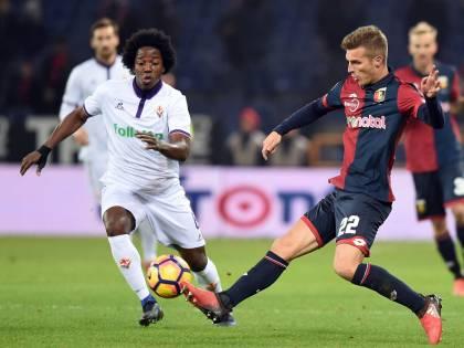 Il Genoa batte la Fiorentina nel recupero: decide un gol di Lazovic