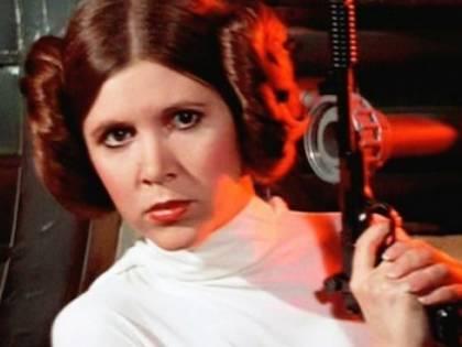 """Morta Carrie Fisher, la """"principessa Leila"""" di Guerre stellari"""