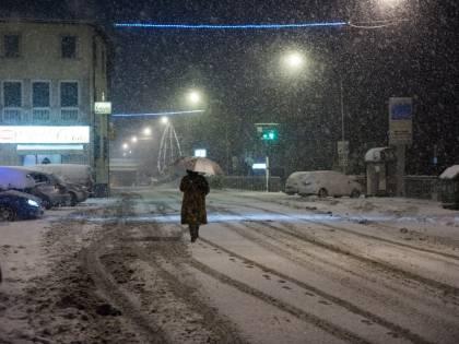 Neve, pioggia e gelate a Capodanno