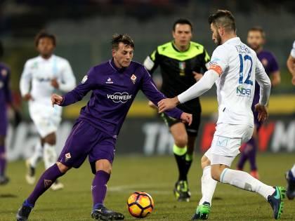 Coppa Italia, la Fiorentina piega il Chievo: ai quarti c'è il Napoli