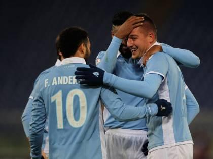 La Lazio cala il poker contro il Genoa: ora ai quarti c'è l'Inter