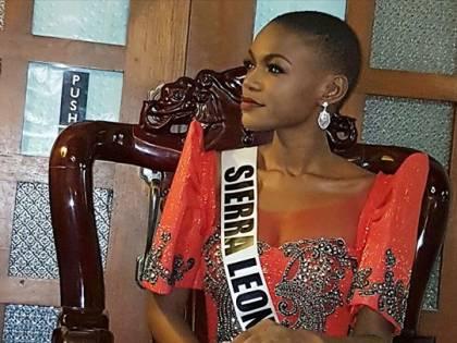 Miss Universo, Hawa Kamara è la prima reginetta della Sierra Leone