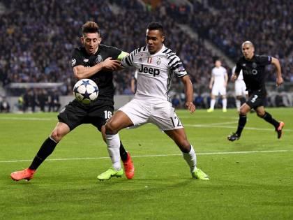 Il Porto mostra il piede di Herrera: il fallo di Lichtsteiner gli costa 17 punti