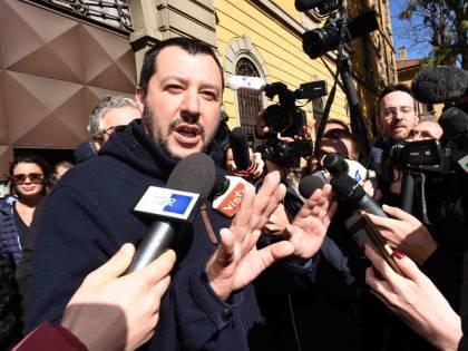 Scintille tra Matteo Salvini e Massimo Gramellini