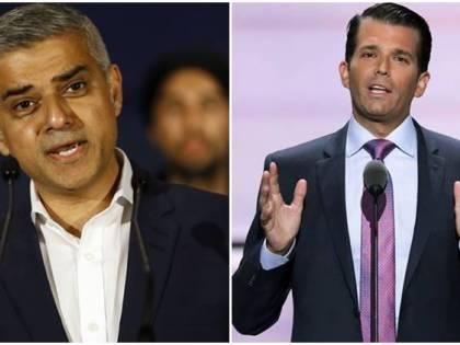 Il figlio di Trump attacca il sindaco di Londra Khan