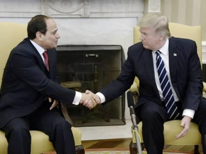 Trump incontra al-Sisi e sigla l'asse anti-terrorismo
