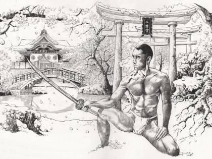 Si battè fino alla fine contro la crisi d'identità del suo Giappone